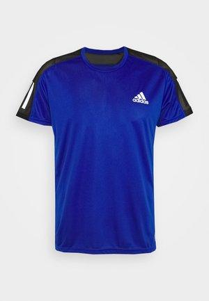 RESPONSE RUNNING SHORT SLEEVE TEE - Print T-shirt - royblu/refsil