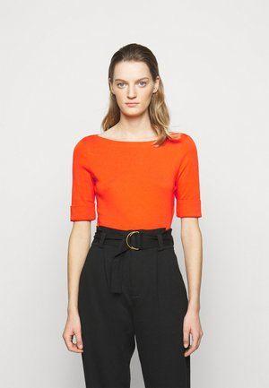 Basic T-shirt - dusk orange