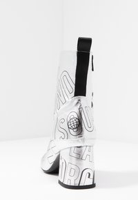 McQ Alexander McQueen - PHUTURE BOOT - Støvletter - silver/black - 5