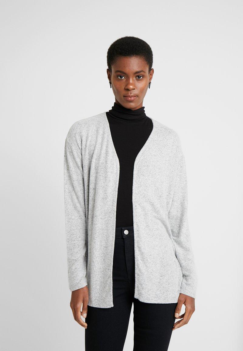 Vero Moda Tall - VMBELINDA CARDIGAN - Pitkähihainen paita - medium grey melange