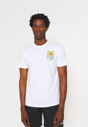 SUMMER BASKETBALL GRAPHICS - T-Shirt print - white