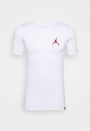 JUMPMAN AIR TEE - Basic T-shirt - white/gym red