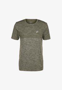 ASICS - RACE SEAMLESS - Print T-shirt - smog green - 0