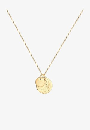 PLATE HAMMERED - Collana - gold-coloured