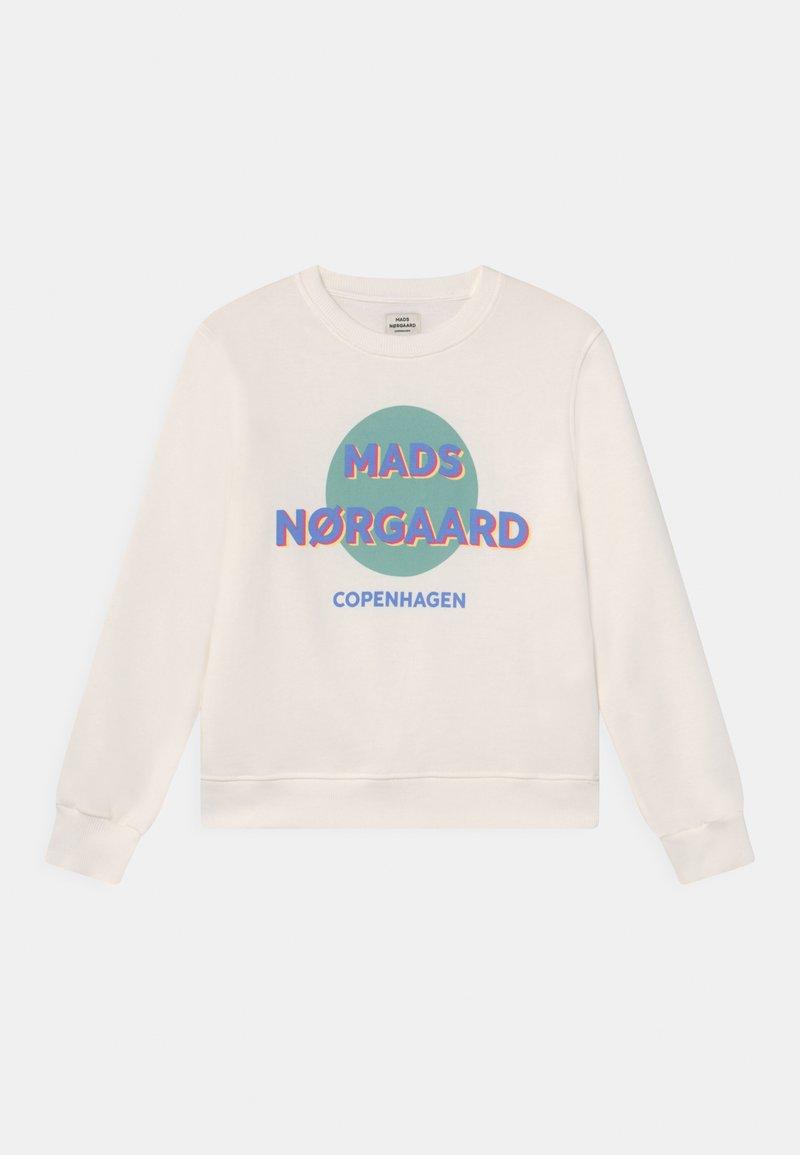 Mads Nørgaard - ORGANIC TALINKA UNISEX - Sweatshirt - white alyssum