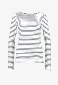 Zalando Essentials Tall - Long sleeved top - offwhite/dark blue - 4