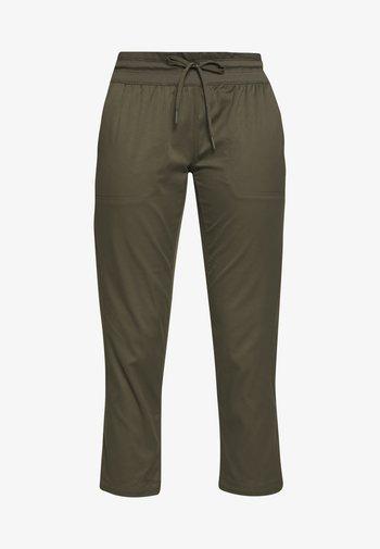 WOMEN'S APHRODITE CAPRI - 3/4 sports trousers - new taupe green