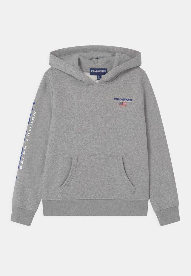 HOOD - Sweatshirts - andover heather