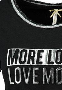 "Key Largo - ""MORE"" - Print T-shirt - schwarz - 2"