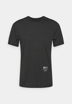TEE TRAIL - T-shirts print - black