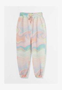 Bershka - Teplákové kalhoty - pink - 4