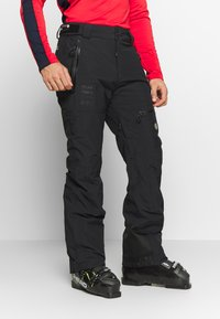 Superdry - PRO RACER RESCUE PANT - Spodnie narciarskie - onyx black - 0