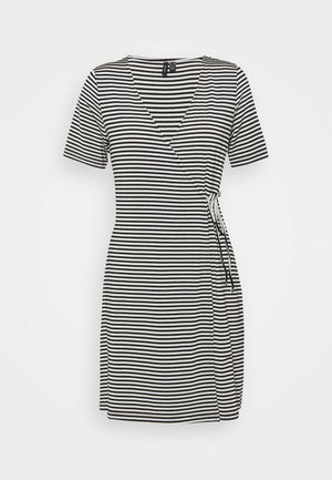 VMKATE SHORT DRESS - Jerseyjurk - black/white