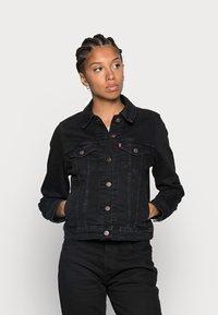 Levi's® - ORIGINAL TRUCKER - Giacca di jeans - black - 0