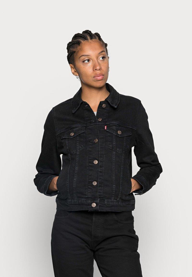 Levi's® - ORIGINAL TRUCKER - Giacca di jeans - black