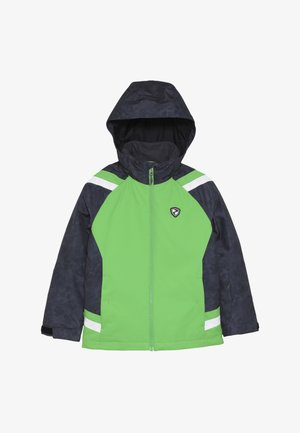 AVER JUNIOR - Ski jacket - green