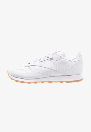 CLASSIC LEATHER CUSHIONING MIDSOLE SHOES - Joggesko - white