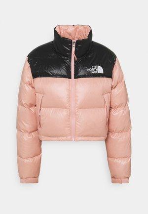 SHORT JACKET - Down jacket - rose tan