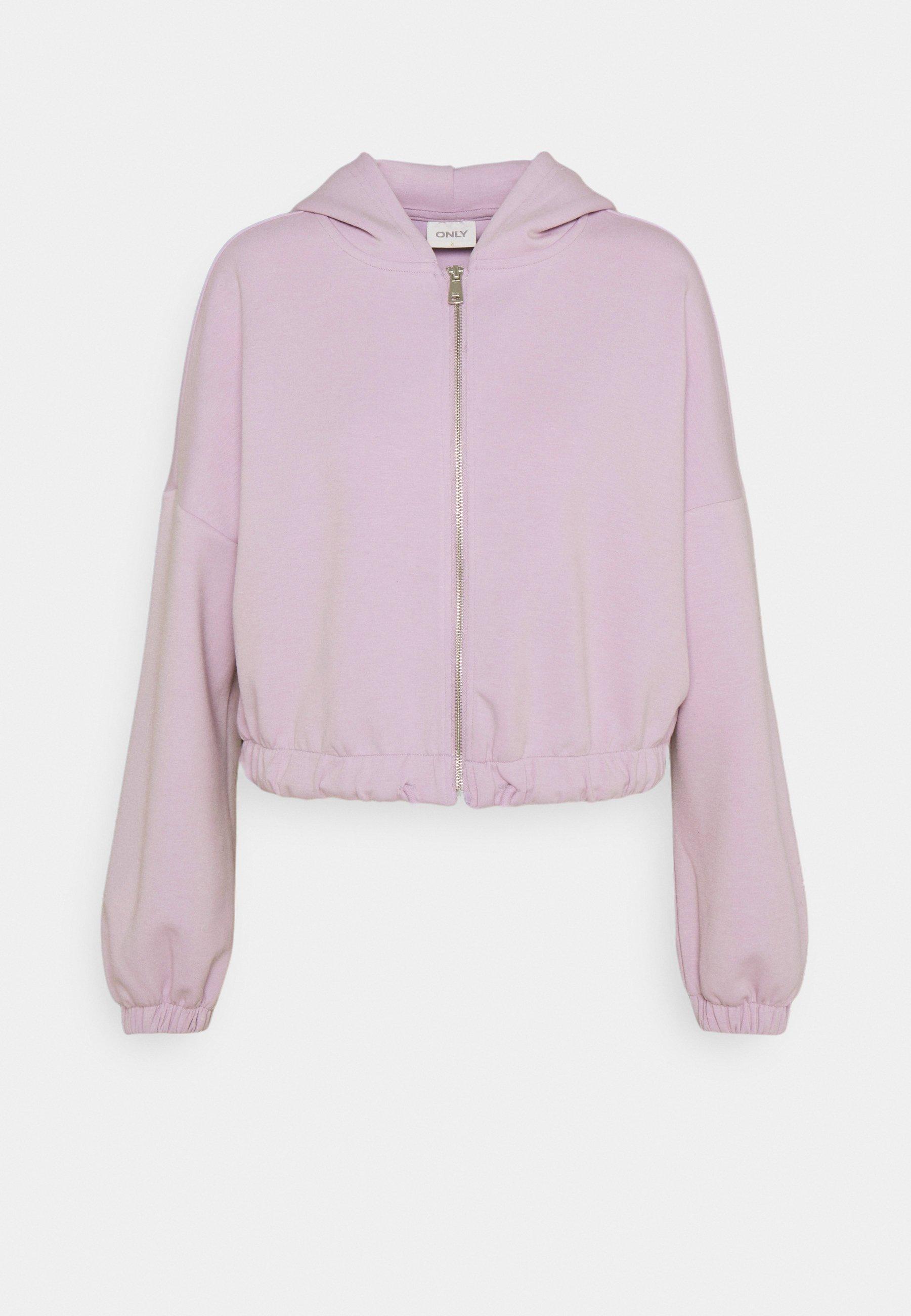 Women ONLSCARLETT HOOD ZIP - Zip-up sweatshirt