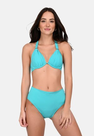 FABIA - Bikini pezzo sopra - turquoise