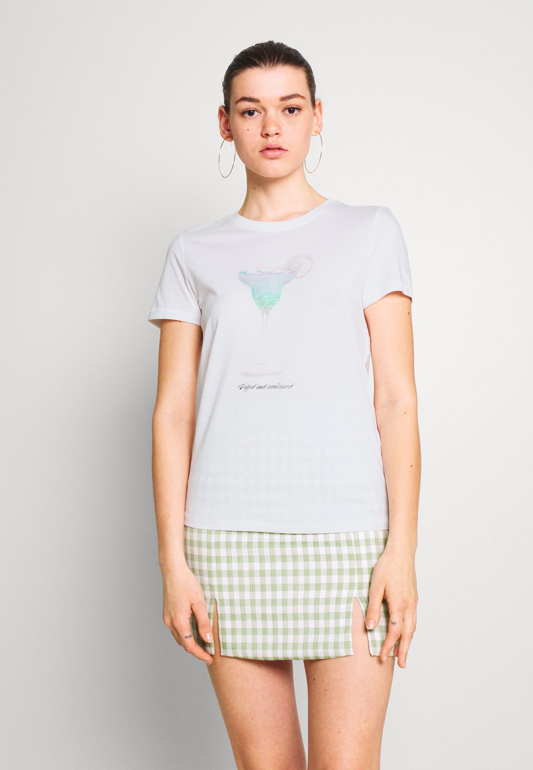 Femme ONLKITA LIFE BOX - T-shirt imprimé