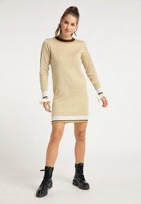 myMo - Jumper dress - senf - 1