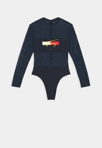 Tommy Hilfiger - BRAZILIAN ONE PIECE FASHION - Swimsuit - desert sky - 0