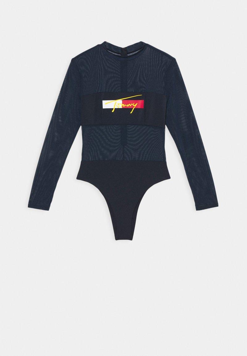 Tommy Hilfiger - BRAZILIAN ONE PIECE FASHION - Swimsuit - desert sky