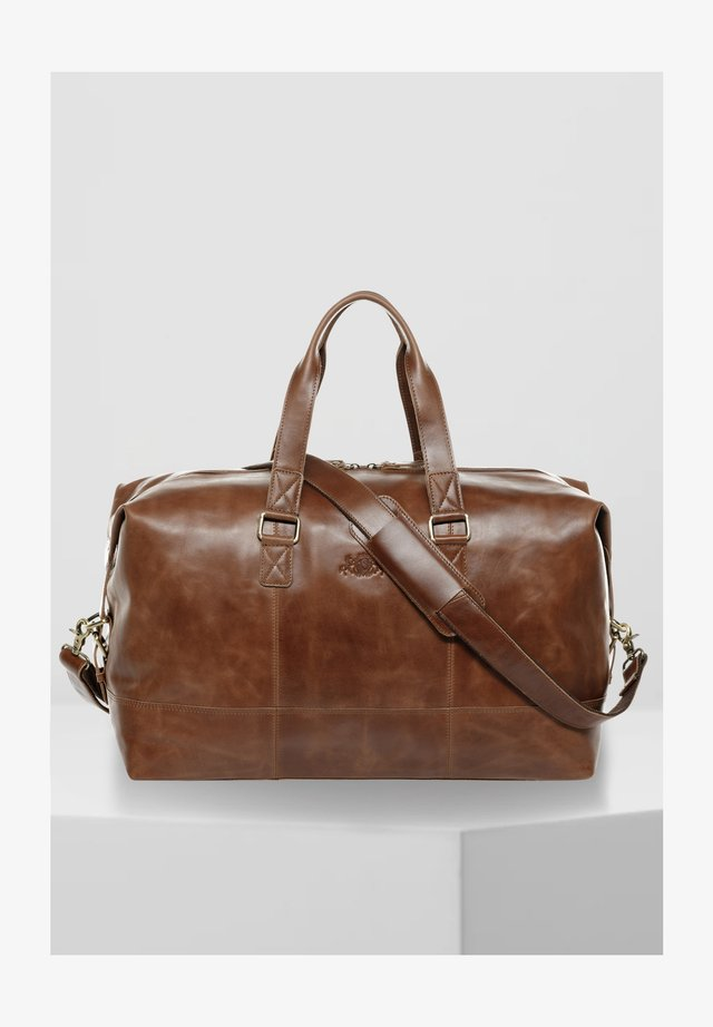 Weekend bag - braun-cognac