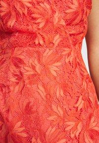 Morgan - Robe de soirée - grenadine - 5