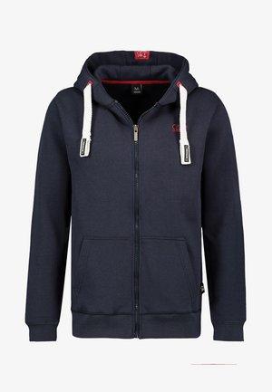 Zip-up sweatshirt - dark-blue
