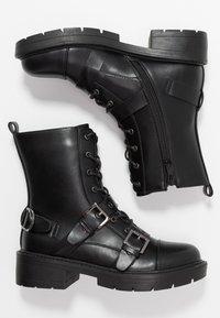 RAID - STEVIE - Cowboystøvletter - black - 3
