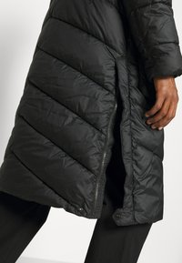 G-Star - UTILITY QUILTED EXTRA LONG PARKA - Winter coat - namic lite black - 5