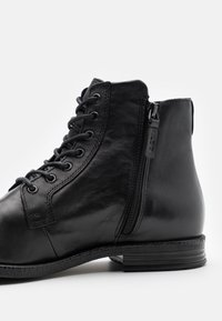 ALDO - STEURSTRAAT - Lace-up ankle boots - black - 5