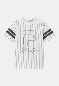 Fila - JUNIAS STRIPPED  - Camiseta estampada - bright white - 0