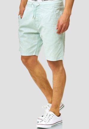 REGULAR FIT - Shorts - turquoise
