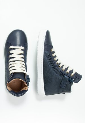 VILMA LACE SHOE - High-top trainers - navy