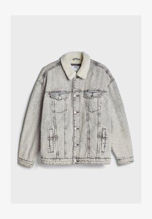 MIT LAMMFELLIMITAT  - Denim jacket - grey