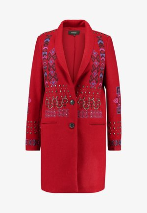 ABRIG DYLAN - Classic coat - rojo oscuro
