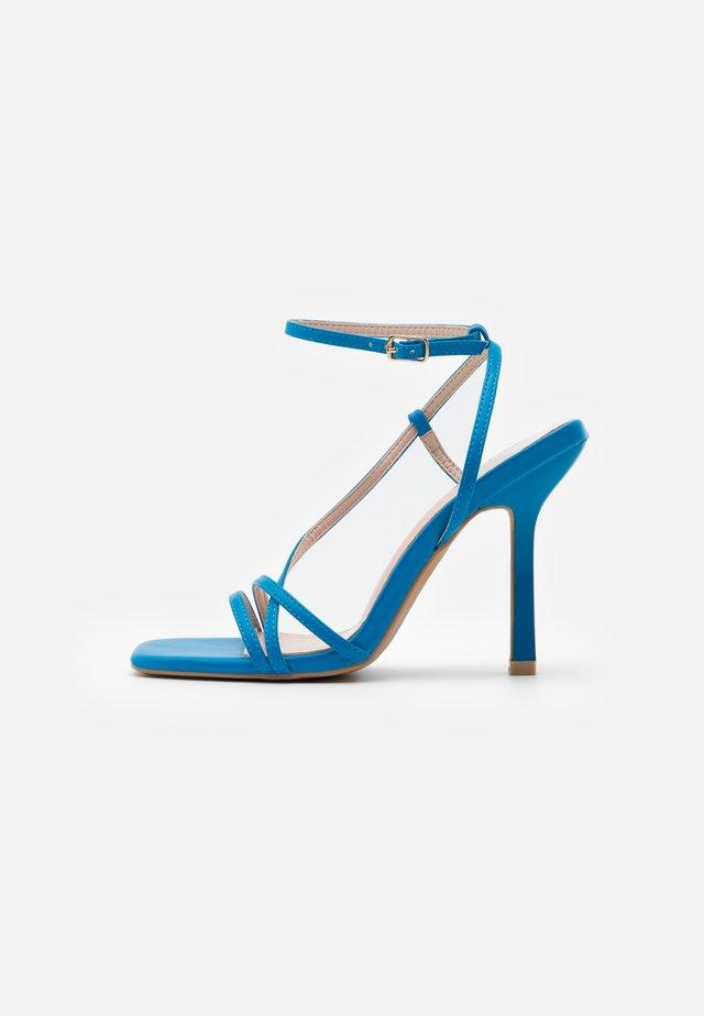 RUPA - Korolliset sandaalit - blue