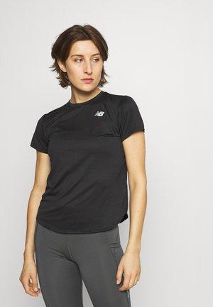 ACCELERATE SHORT SLEEVE - T-shirt basic - black