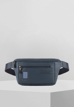 PIQUADRO AKRON GÜRTELTASCHE LEDER 30 CM - Bum bag - blue