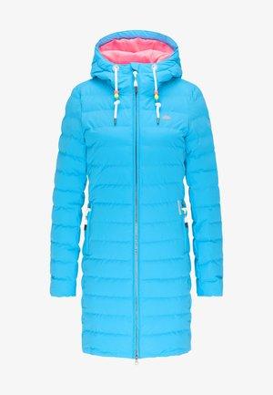 Zimní kabát - neon blue