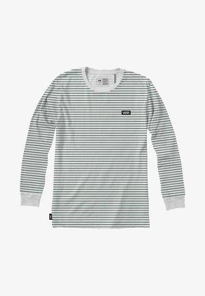 MN OFF THE WALL CLASSIC STRIPE LS - Print T-shirt - white-pine needle