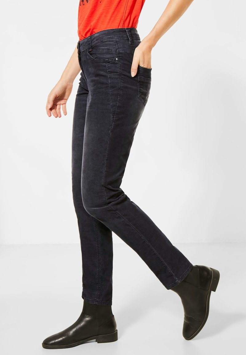 Cecil - Slim fit jeans - grau