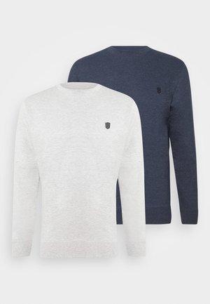 EBACH 2 PACK - Sweatshirt - navy/light grey