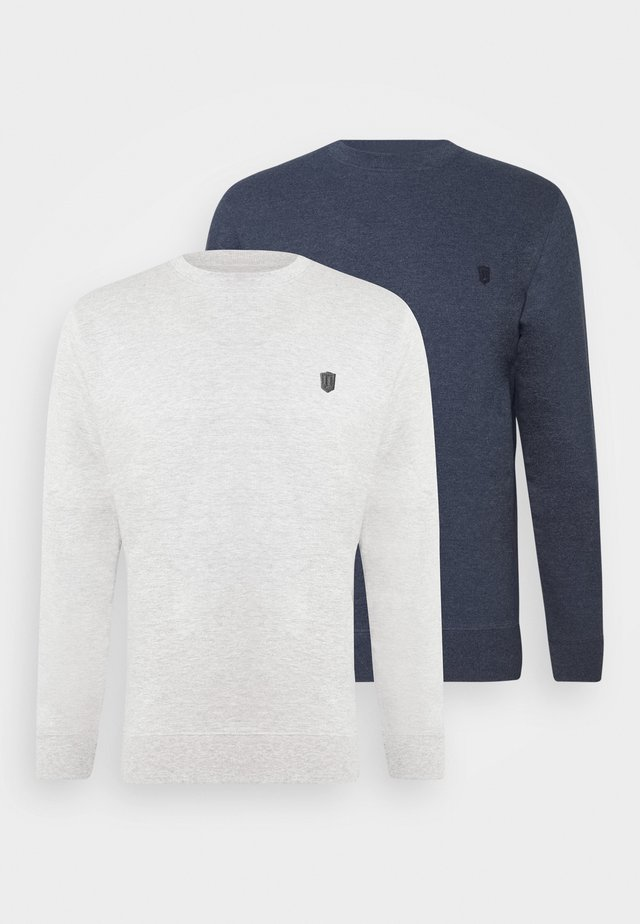 2 PACK - Sweatshirt - navy/light grey