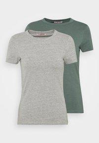 light green/mottled grey