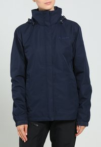 Vaude - WOMANS ESCAPE LIGHT JACKET - Waterproof jacket - eclipse - 1