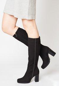 faina - MIT HOHEM ABSATZ - Boots - schwarz - 0